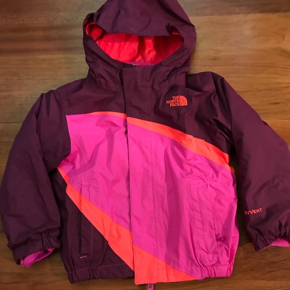 ... rain jackets 0c104 07693 promo code for the north face girls 3t hyvent  fleece raincoat 75a8d eff2a ... 325cac0c2